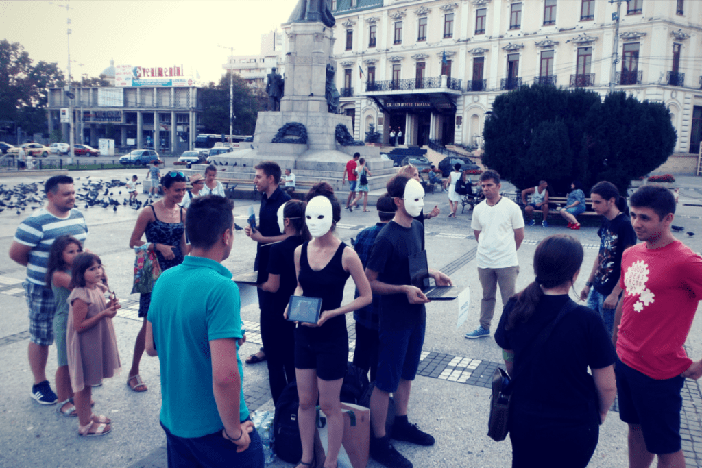 Earthlings Experience la Iași - Echipa Vegan în România
