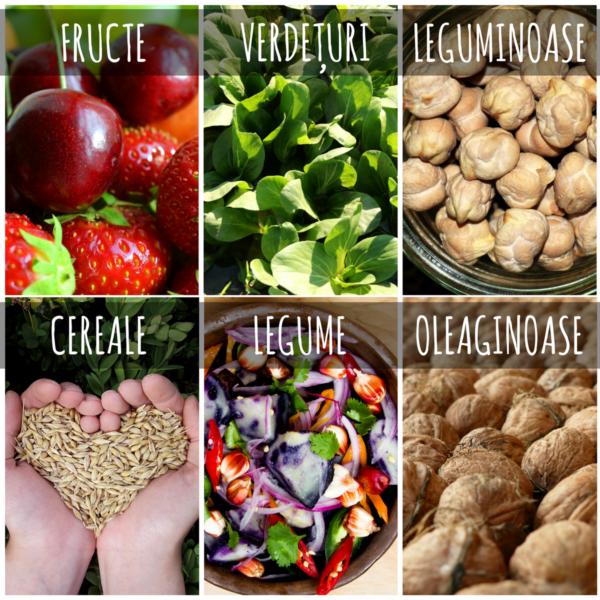 Cele şase grupe alimentare