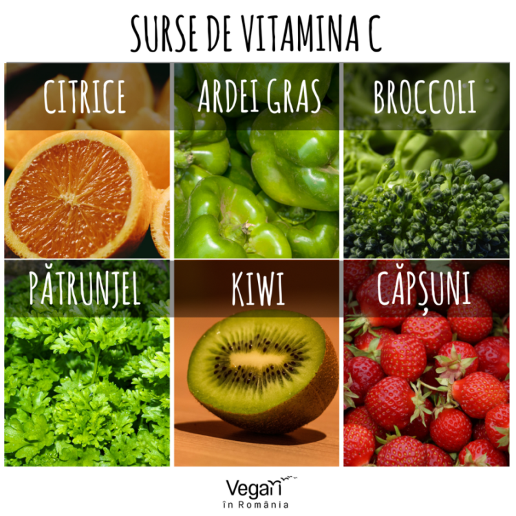 Surse bogate de vitamina C